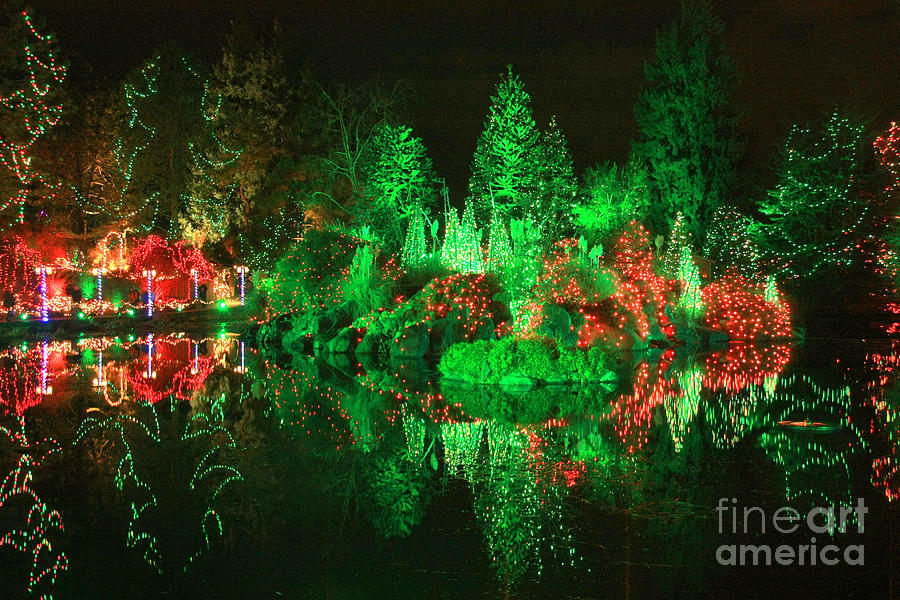 Christmas Photograph - Christmas Fantasyland by Frank Townsley