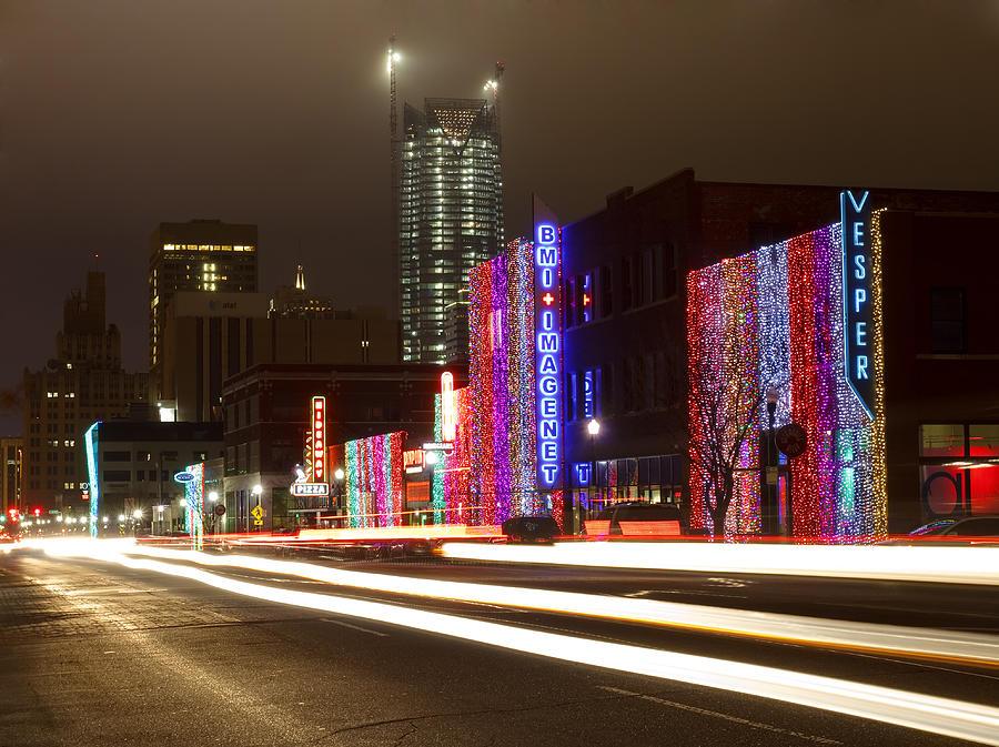 Christmas In Okc Photograph by Ricky Barnard