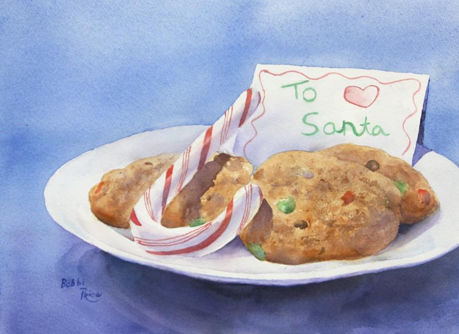 Christmas Painting - Christmas Traditions by Bobbi Price