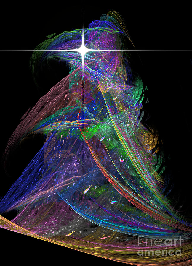 digital art christmas tree - photo #21