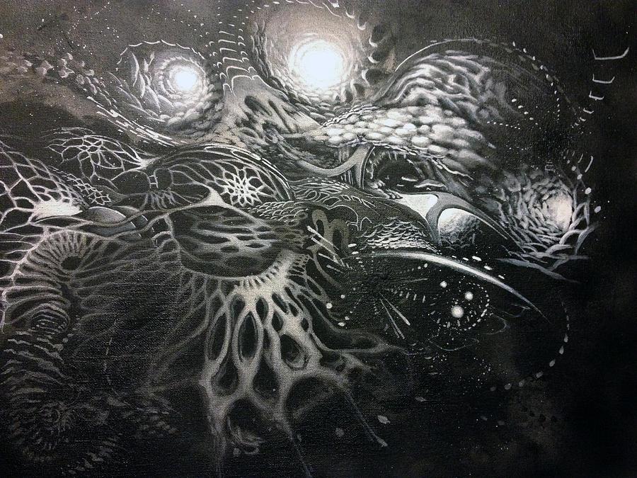 Chromanaught Painting by Adam Carsons
