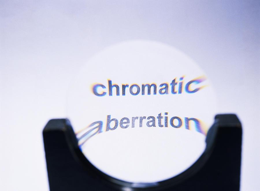 Chromatic Aberration Photograph - Chromatic Aberration by Andrew Lambert Photography
