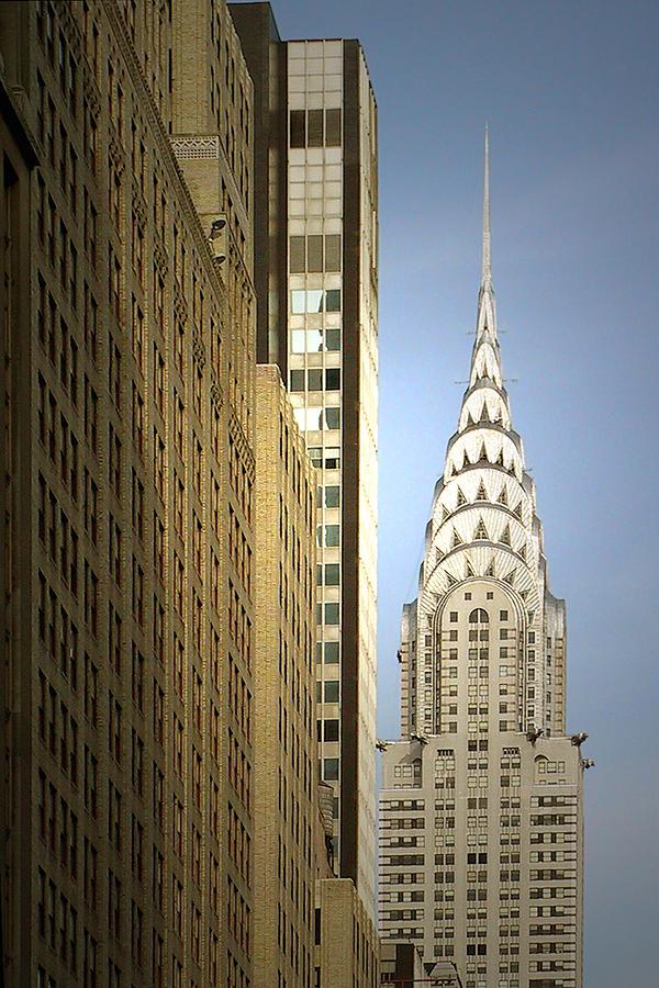 Chrysler Photograph - Chrysler Building Nyc - Streamlined Majesty by Christine Till