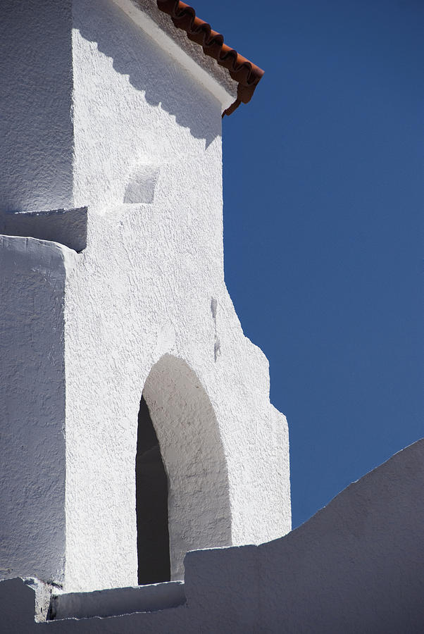 Architecture Photograph - Church Bell Tower Chacras De Coria by Philippe Widling