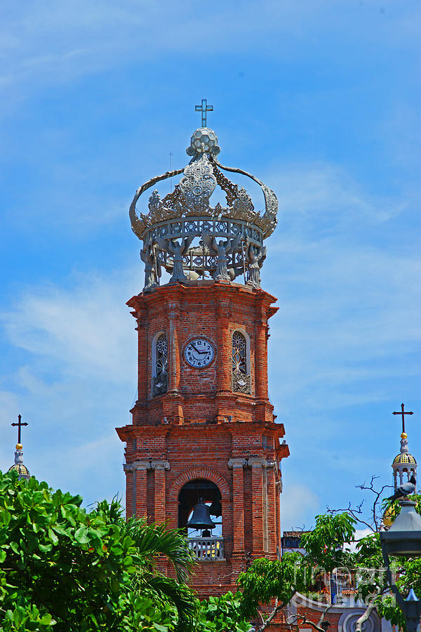 Churches Photograph - Church In Puerto Vallarta by Randy Harris