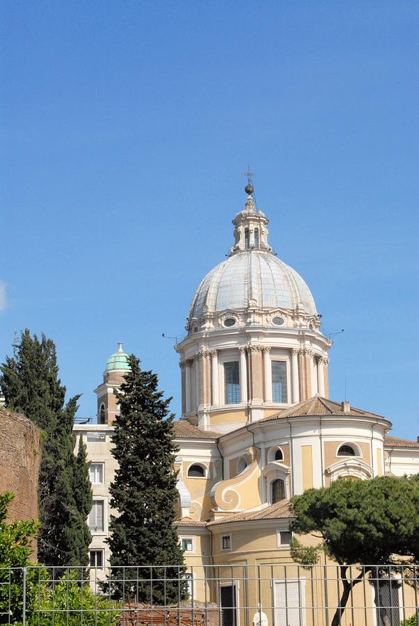 Church Photograph - Church In Rome by