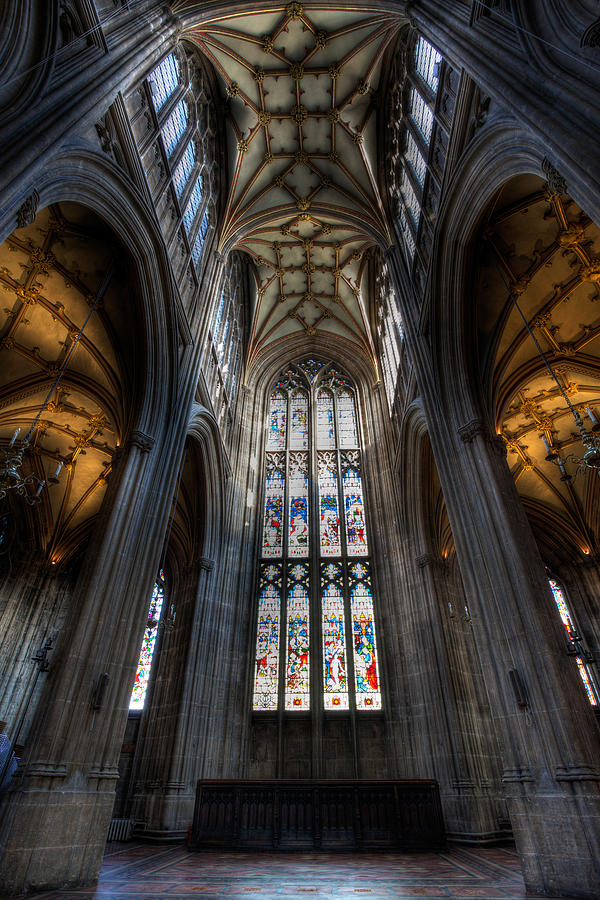 Cathedral Photograph - Church Interior by Adrian Evans