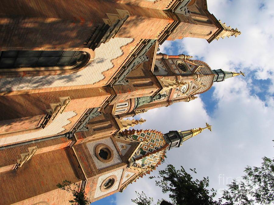 Nature Photograph - Church by Odon Czintos