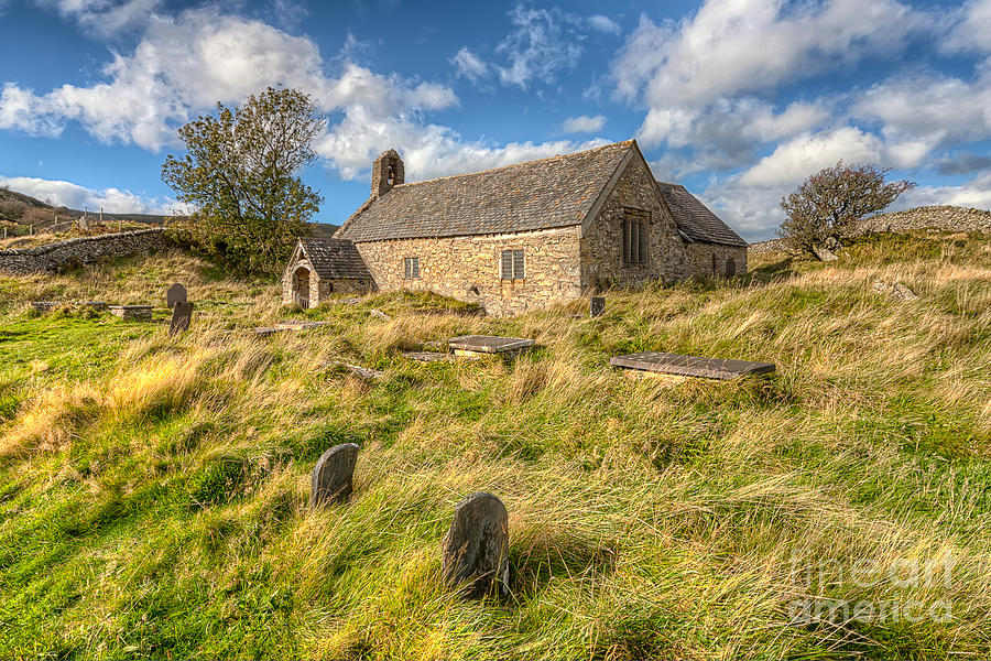 Architecture Photograph - Church Of Celynnin by Adrian Evans