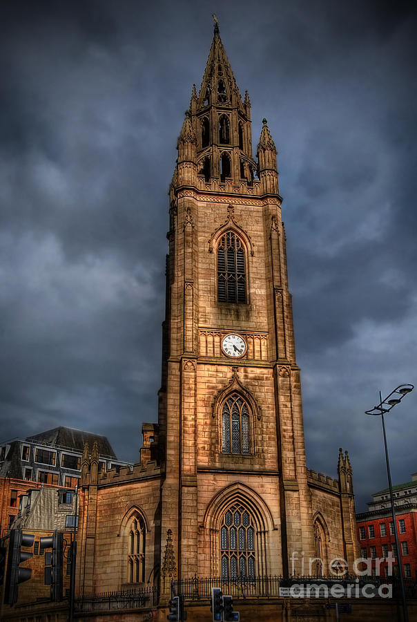 Hdr Photograph - Church Of Our Lady - Liverpool by Yhun Suarez