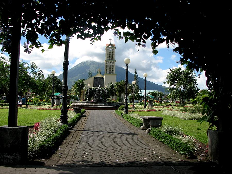 La Fortuna Photograph - Church Of San Juan Bosco by Keith Stokes