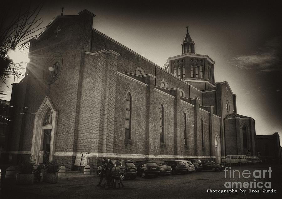 Venice Photograph - Church by Uros Zunic