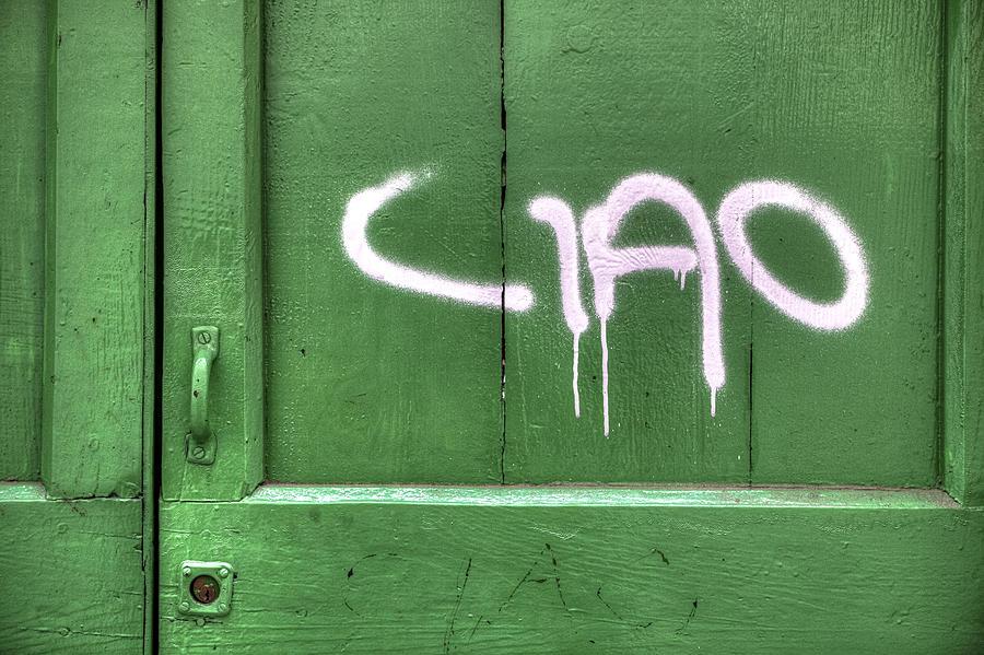 Wooden Door Photograph - Ciao by Joana Kruse