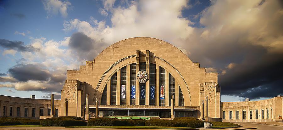 Cincinnati Museum Photograph - Cincinnati Museum Union Terminal by Randall Branham