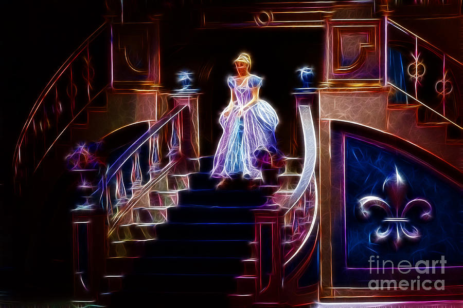 Cinderella Photograph - Cinderella Enters The Ball by Darleen Stry