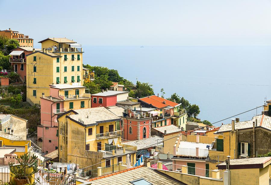 Horizontal Photograph - Cinque Terre - Riomaggiore by Michal Krakowiak