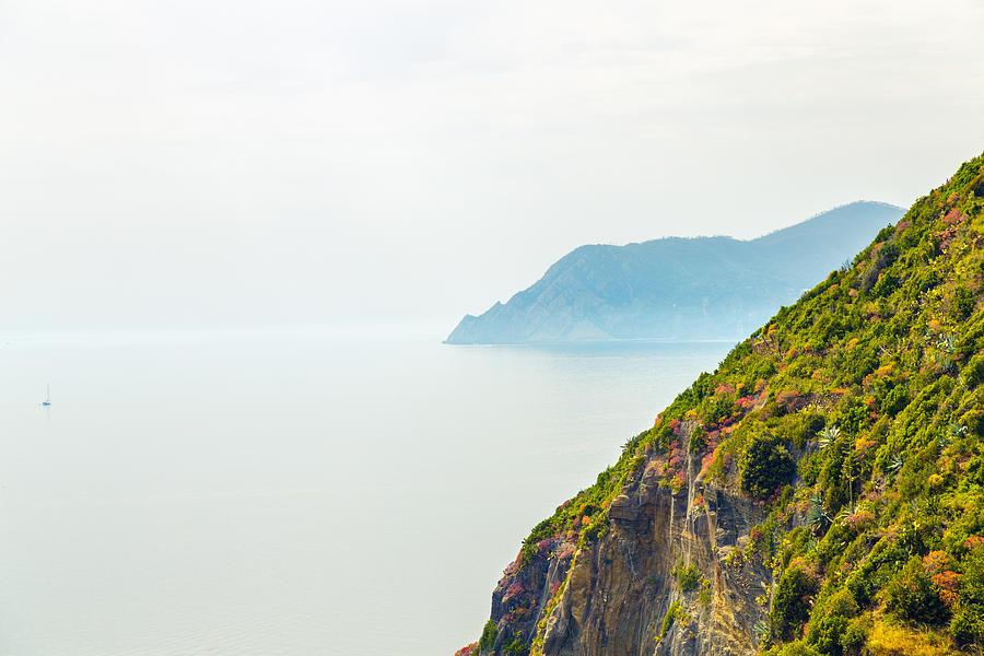 Horizontal Photograph - Cinque Terre Coastline by Michal Krakowiak