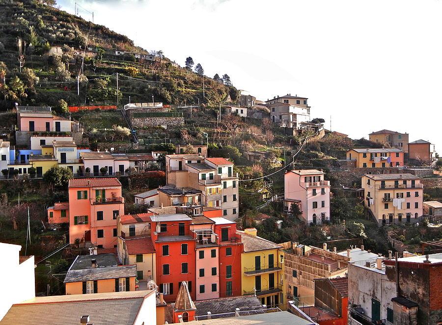 Cinque Terre Photograph - Cinque Terre I by David Ritsema