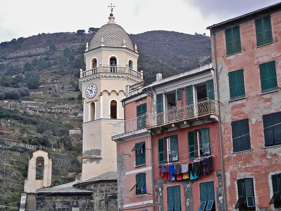 Cinque Terre Photograph - Cinque Terre Iv by David Ritsema