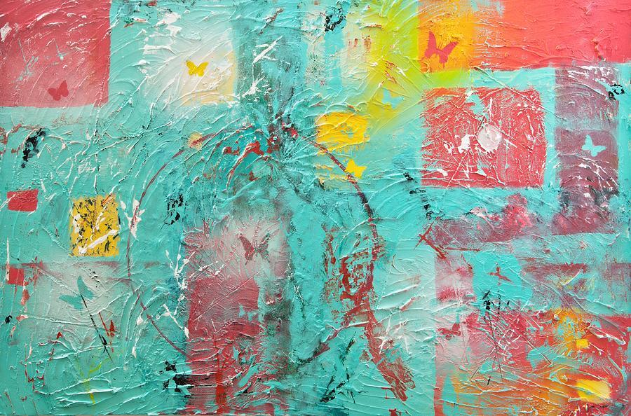 Mixed Media Painting - Circle Of Life by Wayne Potrafka
