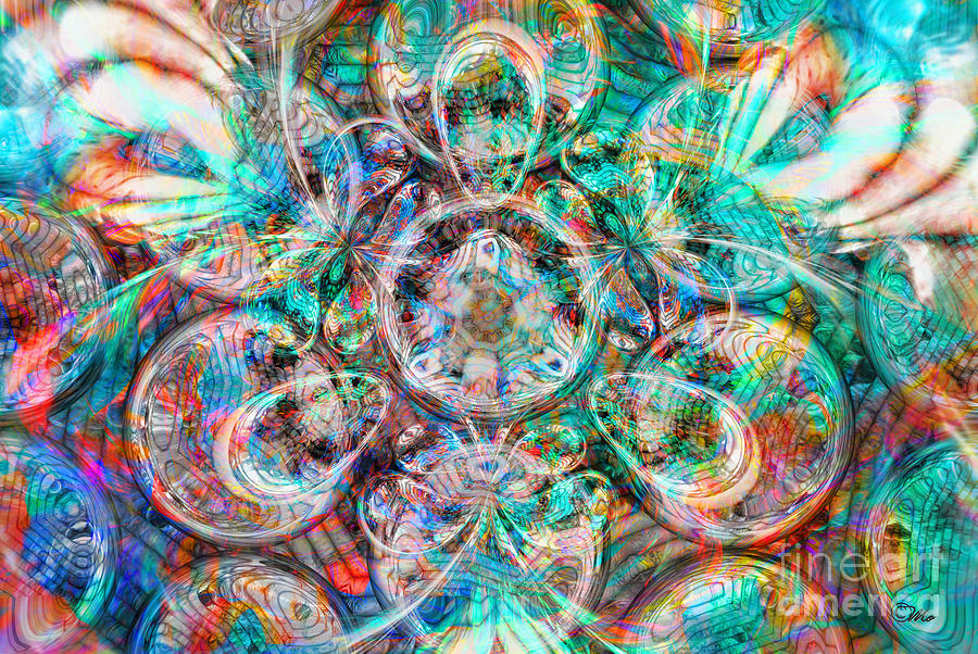 Circles Of Life Digital Art - Circles Of Life by Mo T