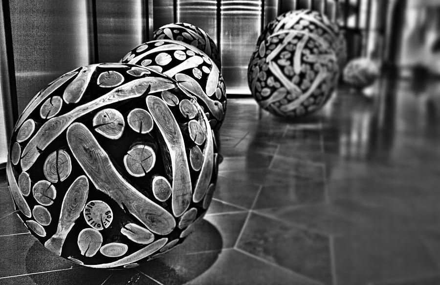 Circles Photograph - Circles Of Wood by Douglas Barnard