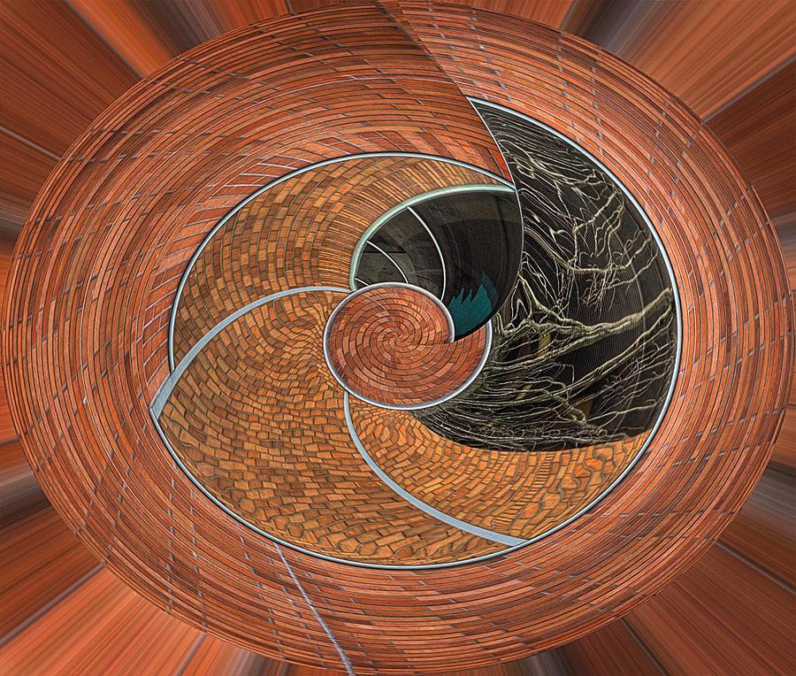 Design Photograph - Circular Koin by Jean Noren