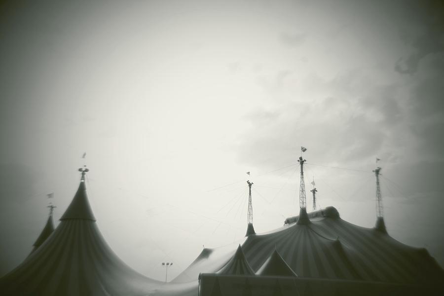 Horizontal Photograph - Circus Tent by Copyright Lynn Longos