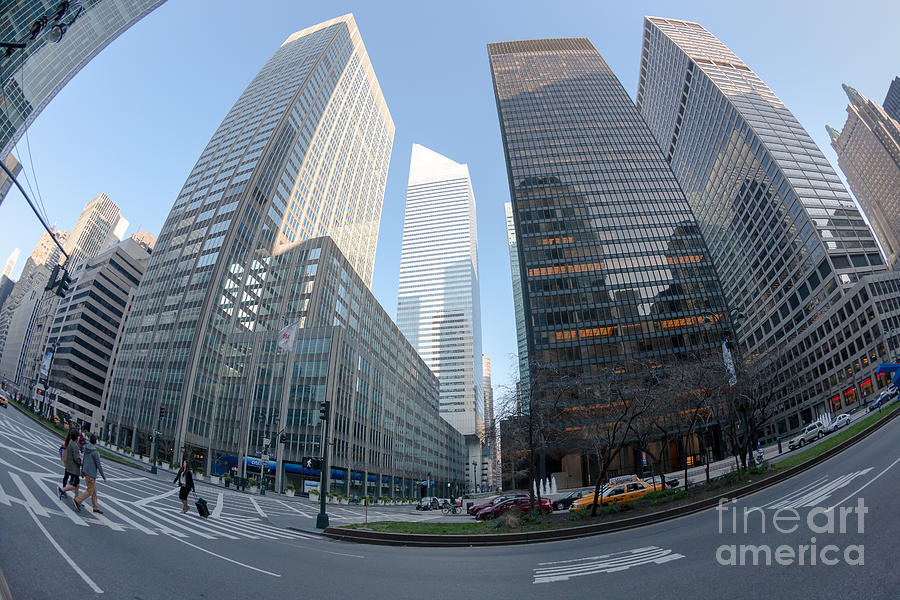 America Photograph - Citigroup Center From Park Avenue I by Clarence Holmes