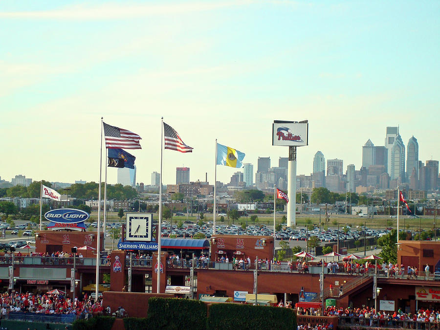 Sports Photograph - Citizens Bank Park 3 by See Me Beautiful Photography