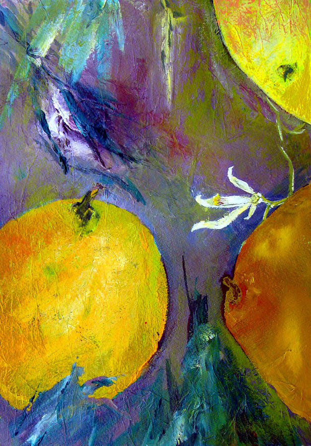 Fruit Painting - Citrus 3 by Beverly  Koski