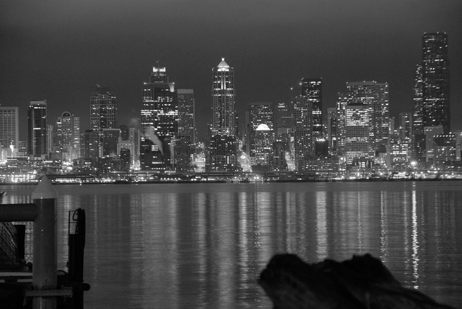 Cityscape Photograph - City At Dawn by Michael Merry