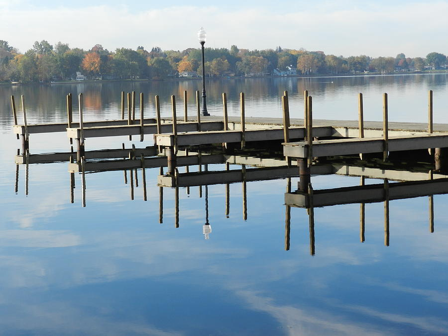 Nature Photograph - City Dock by Dennis Leatherman