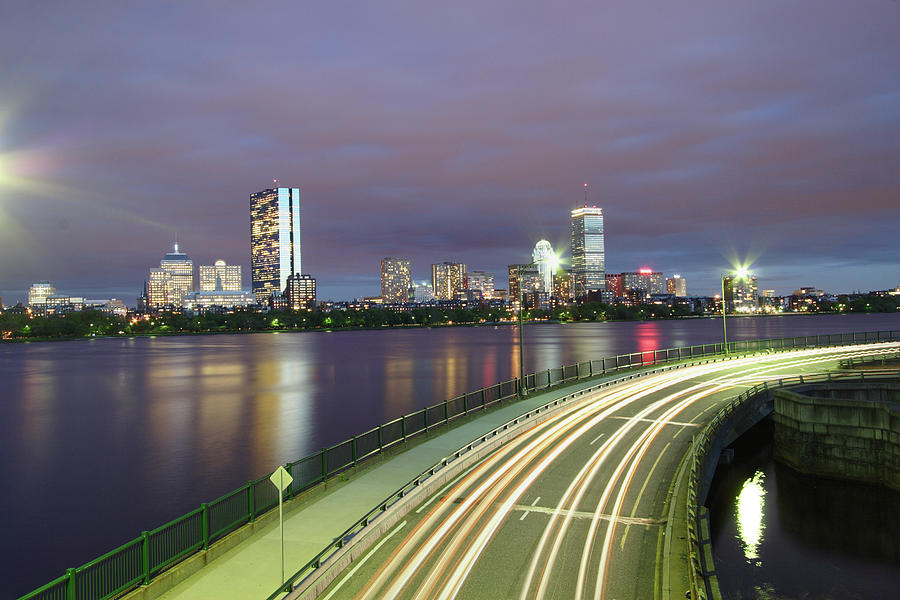 Horizontal Photograph - City Flow by Eric Hill