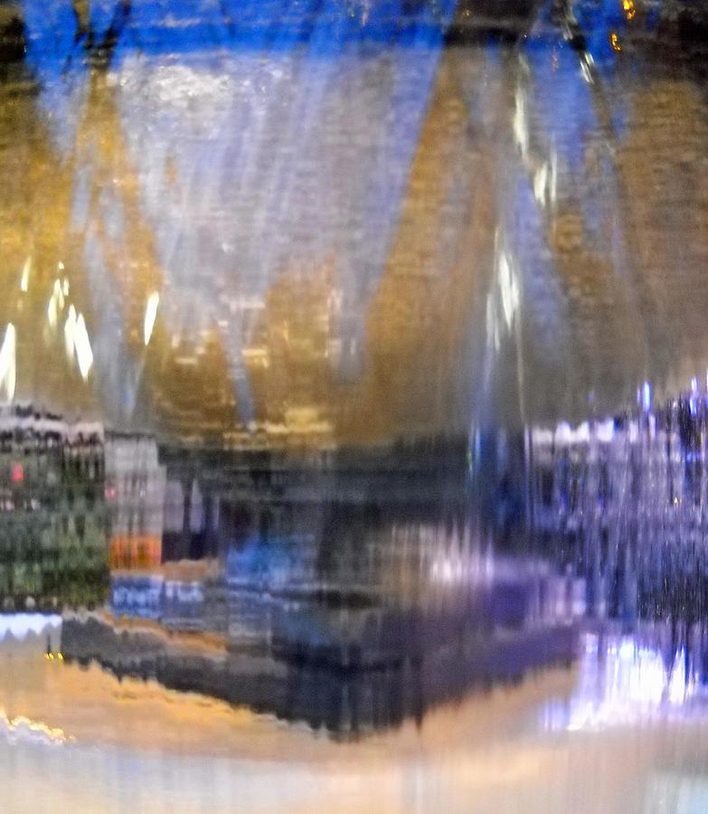 Fountain Photograph - City Fountain  by Duwayne Washington