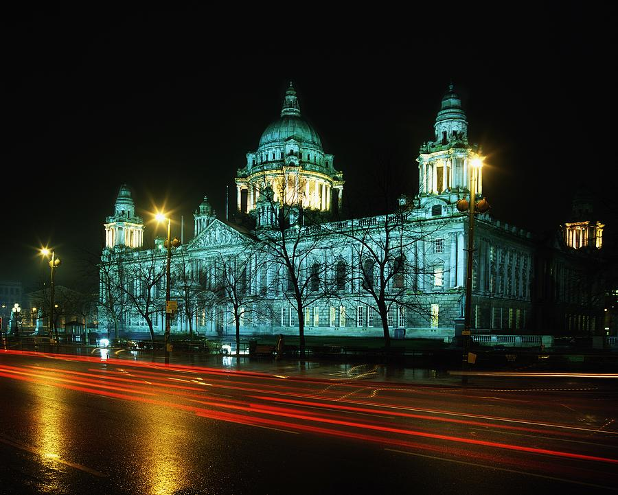 Architecture Photograph - City Hall, Belfast, Ireland by The Irish Image Collection