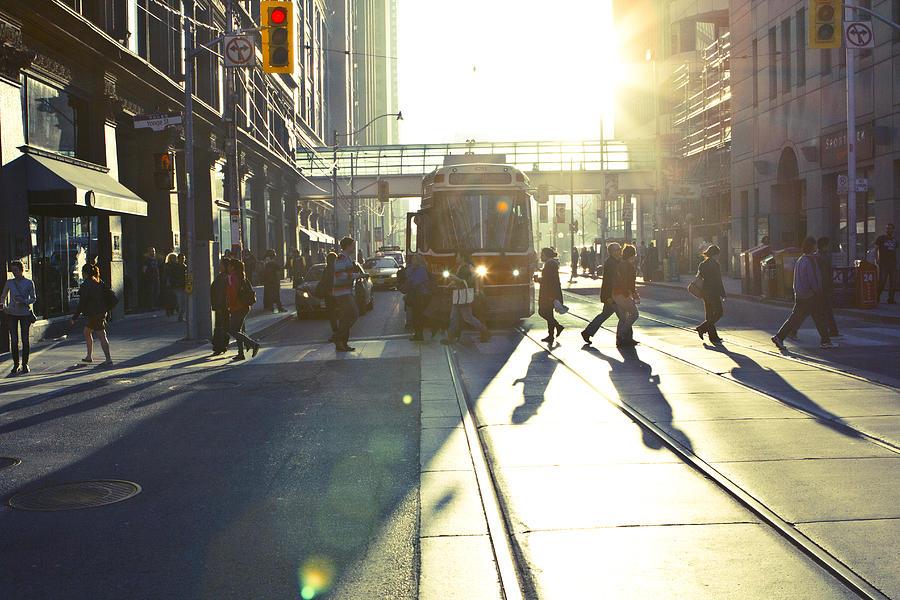 Toronto Photograph - City Mood by Milan Kalkan