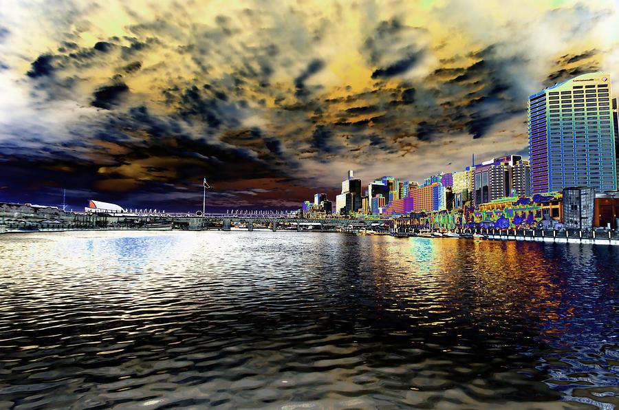 Sydney Photograph - City Of Color by Douglas Barnard