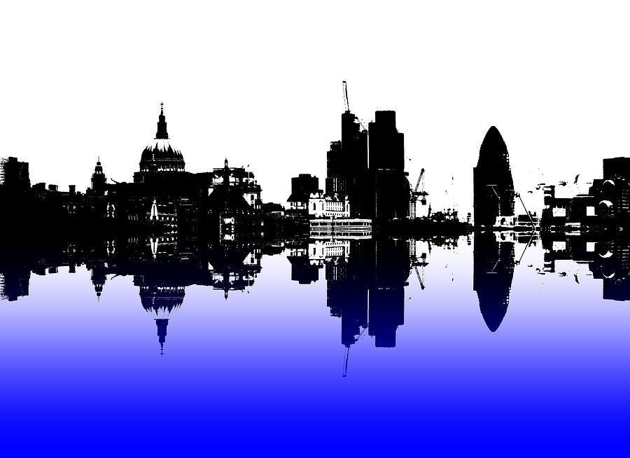 London Skyline Photograph - City Of Culture by Sharon Lisa Clarke