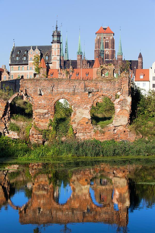 Gdansk Photograph - City Of Gdansk In Poland by Artur Bogacki