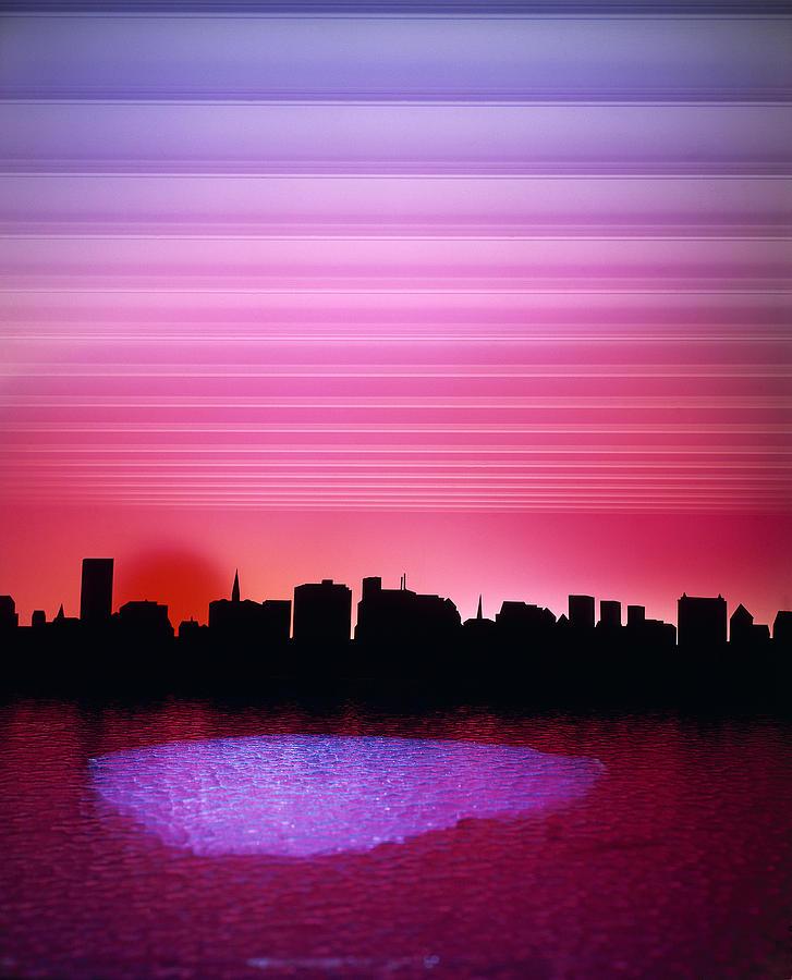 City Skyline Photograph - City Of My Dreams by Jan W Faul