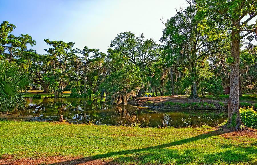New Orleans Photograph - City Park Lagoon by Steve Harrington