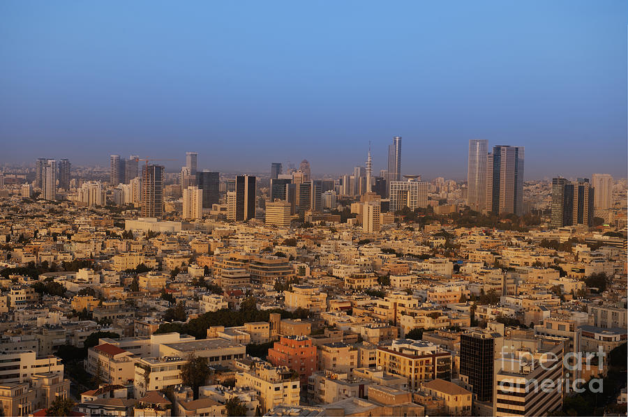 Apartment Photograph - City Skyline by Noam Armonn