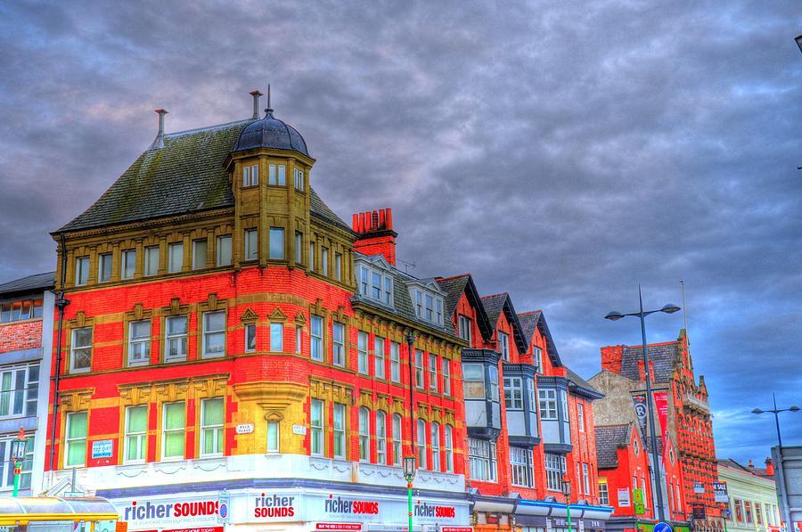 Scotland Digital Art - City Streets by Barry R Jones Jr