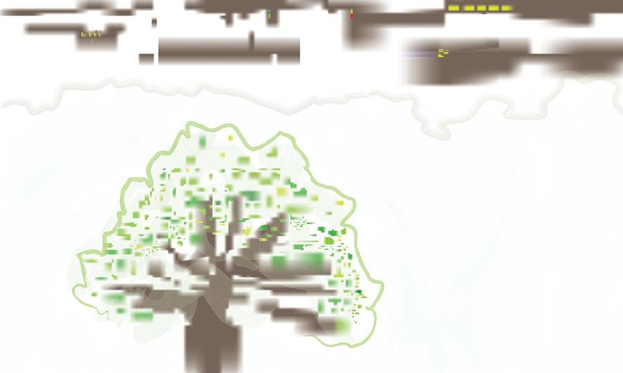 Tree Digital Art - City Tree by Kevin McLaughlin