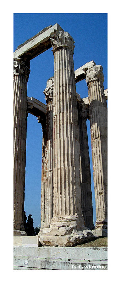 Greece Photograph - Citymarks Athens by Roberto Alamino