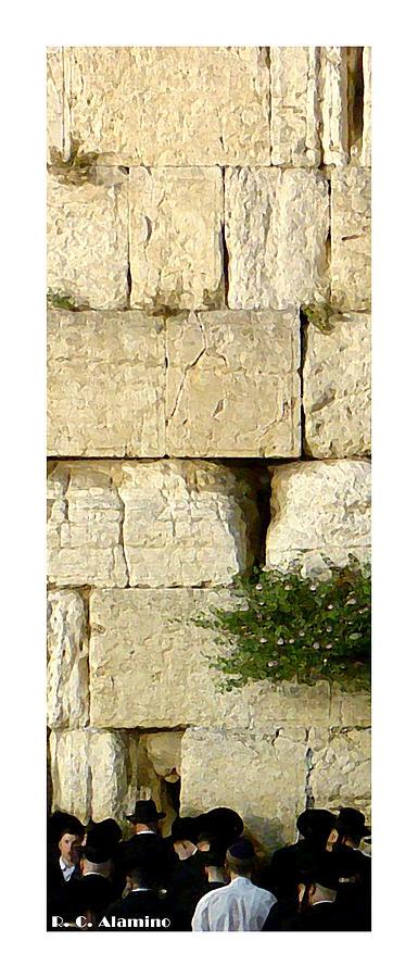Jerusalem Photograph - Citymarks Jerusalem by Roberto Alamino