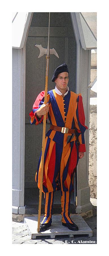 Vatican Photograph - Citymarks Vatican by Roberto Alamino