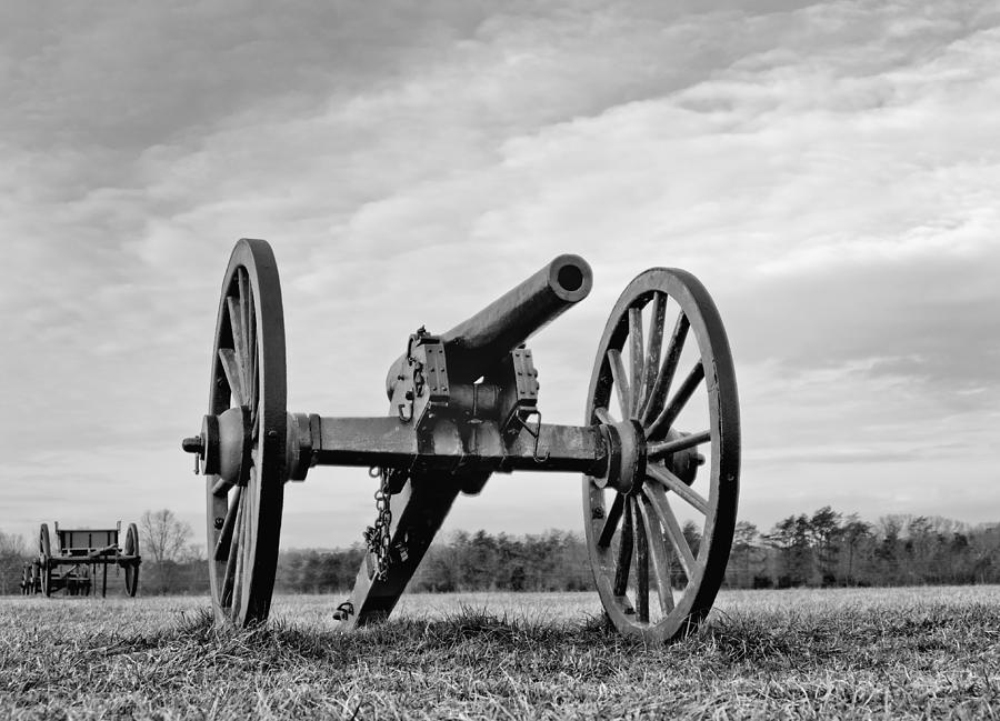 manassas Battlefield  Photograph - Civil War Canon - Manassas Battlefield - Virginia by Brendan Reals
