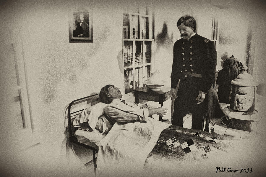 Civil War Photograph - Civil War Hospital by Bill Cannon